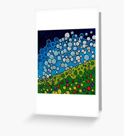 Confectionary Landscape Greeting Card