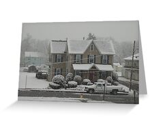 2012 Snow Greeting Card