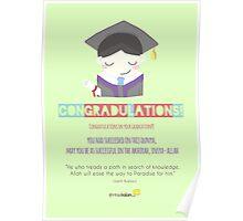Congradulations! (Male) Poster