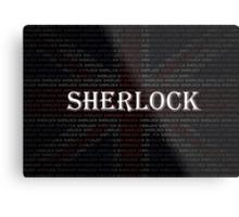 Sherlock Holmes Flag Metal Print
