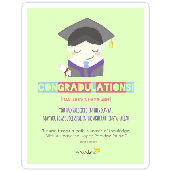 Congradulations! (Male) by SpreadSaIam