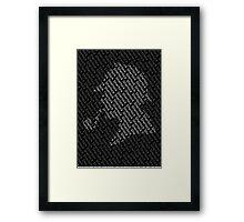 Sherlock Holmes Shadow Framed Print