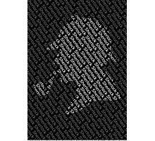 Sherlock Holmes Shadow Photographic Print