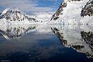 Reflecting on Antarctica 020 by Karl David Hill