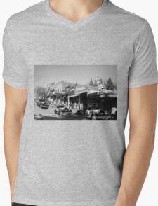 Timeless Auburn Mens V-Neck T-Shirt
