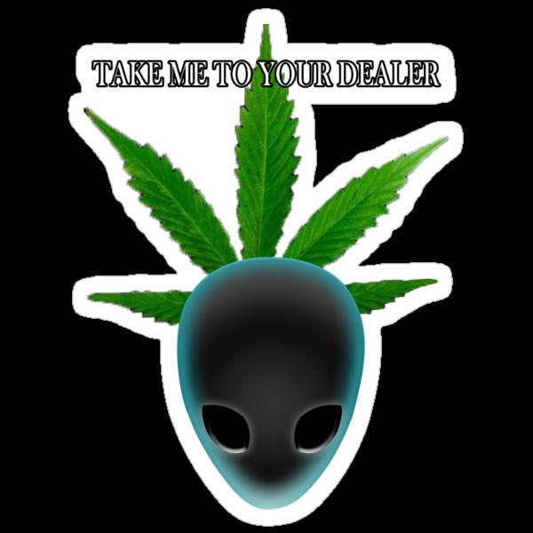 Alien who needs medical marijuana by Perros De Guerra