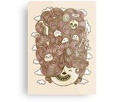 Crazy Hair Day Metal Print