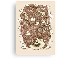 Crazy Hair Day Canvas Print