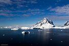Reflecting on Antarctica 021 by Karl David Hill