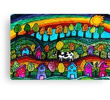 Rainbow Country Canvas Print