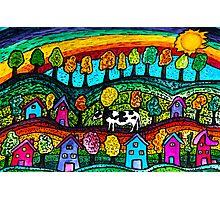 Rainbow Country Photographic Print