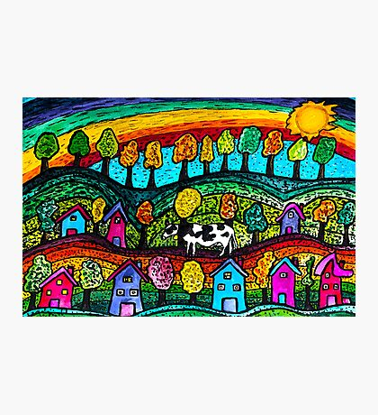 Rainbow Country Photographic Print