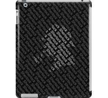 Sherlock Holmes Shadow iPad Case/Skin