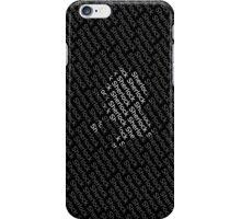 Sherlock Holmes Shadow iPhone Case/Skin