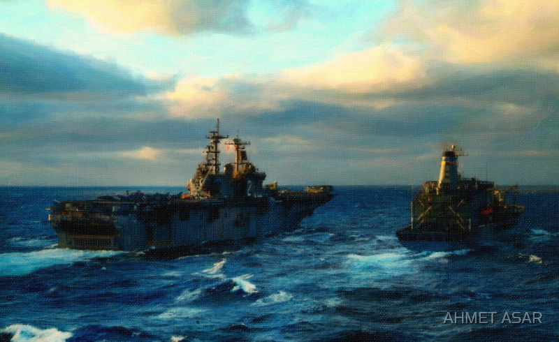 the warship 2 by Adam Asar