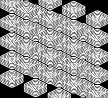 B&W pattern III by dominiquelandau
