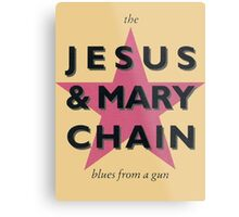 The Jesus & Mary Chain Metal Print
