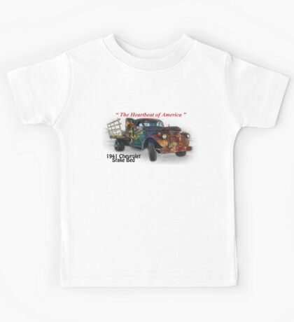 41 Chevrolet Stake Bed - Creative Clothing Kids Tee
