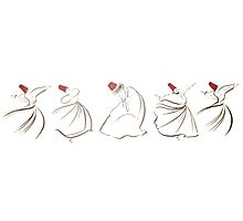 sufi lines Photographic Print