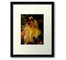 Ho Ho Ho, Merry Christmas Framed Print