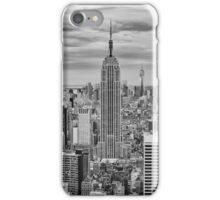 Winter Storm over Midtown iPhone Case/Skin