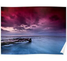 Lake St. Clair Sunset Poster