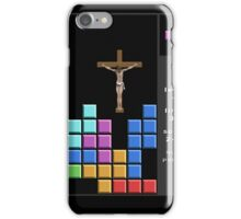 Jesus At Just The Right Time iPhone Case/Skin