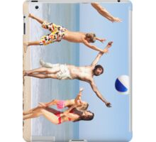 Jesus Playing On The Beach iPad Case/Skin
