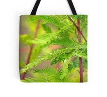 Green Cypress  Tote Bag