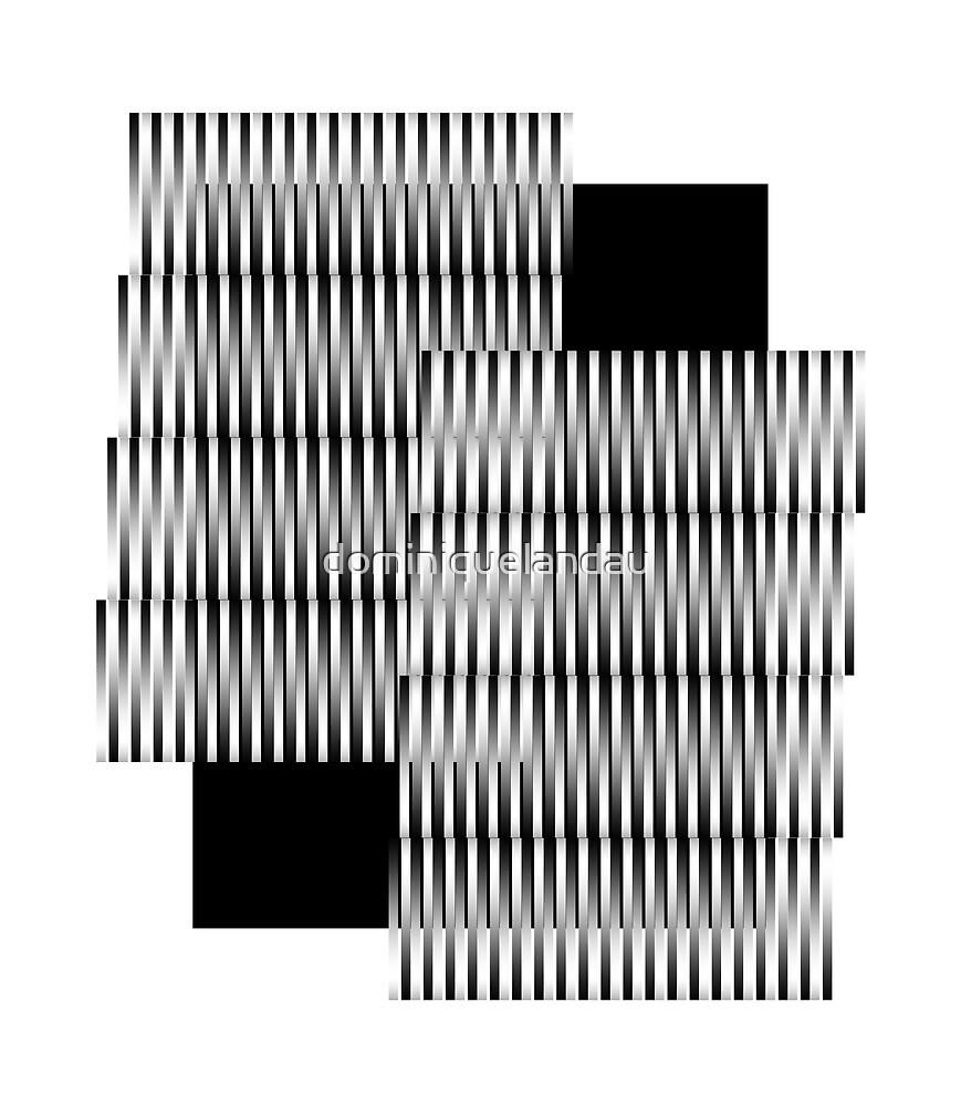 B&W pattern V by dominiquelandau