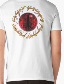 Eye of Sauron Mens V-Neck T-Shirt