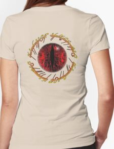 Eye of Sauron Womens Fitted T-Shirt