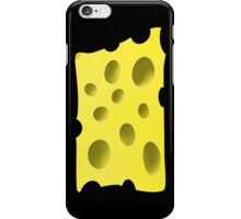 Cheese with holes iPhone Case/Skin