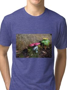 Vileplume and Skiploom Tri-blend T-Shirt