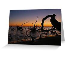 Sunrise at Black Rock Beach Greeting Card
