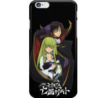 code geass anime design zero 1 iPhone Case/Skin