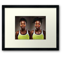 Before After Sport Series Framed Print
