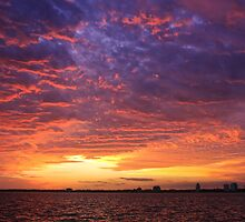 Sunset Fire in the Sky by Itsmyname10