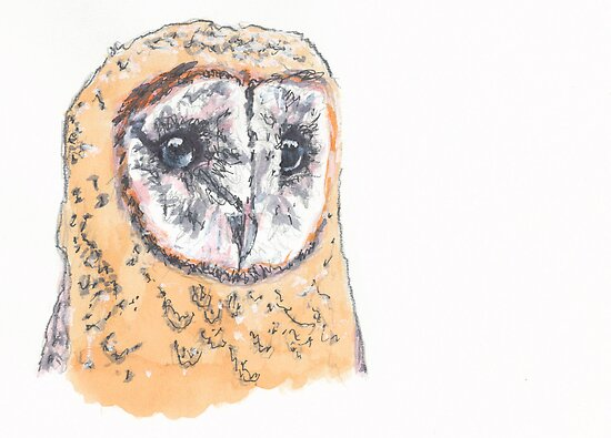 Owl (Portrait of my love) by HiMyNameIsChuck