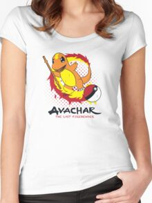 Avachar- The last Firebender Women's Fitted Scoop T-Shirt