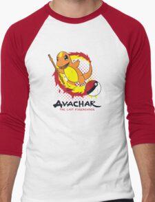 Avachar- The last Firebender Men's Baseball ¾ T-Shirt