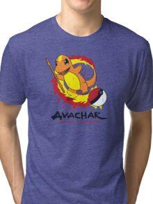 Avachar- The last Firebender Tri-blend T-Shirt