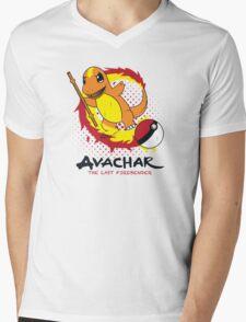 Avachar- The last Firebender Mens V-Neck T-Shirt