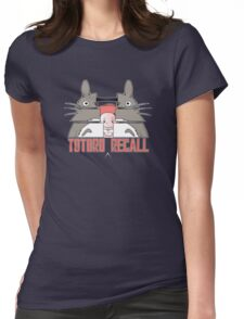 Totoro Recall Womens Fitted T-Shirt