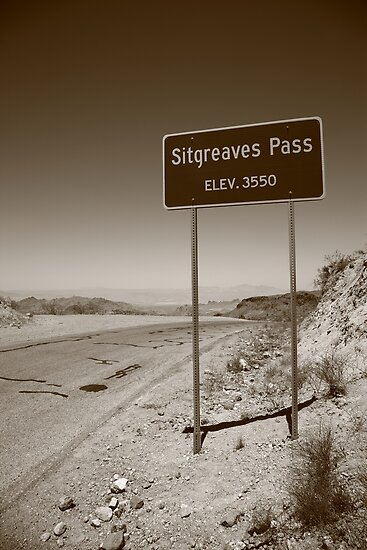 Route 66 - Sitgreaves Pass by Frank Romeo