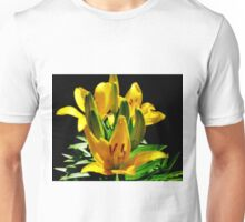 Dreaming In Summer Contrast.....Yellow Unisex T-Shirt