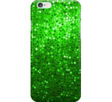 Green Glitter Pattern Texture iPhone Case/Skin