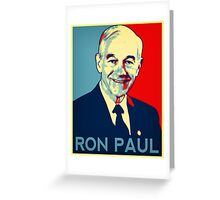 Ron paul 2 Greeting Card