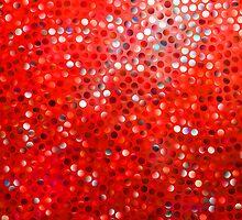 Red Glitter Pattern Texture by artonwear