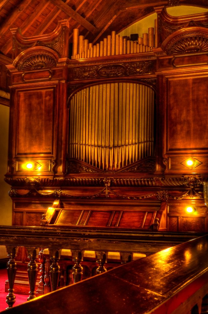 Old Chapel Organ by Steve
